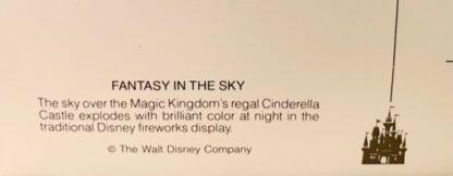 WDW Fantasy Sky Postcard MK New Back Closeup 2
