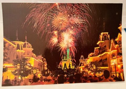 WDW Fantasy Sky Postcard MK New Front