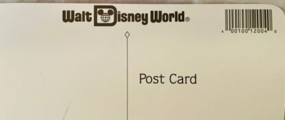 Disney Aladdin Jumbo Postcard New Back Closeup Top