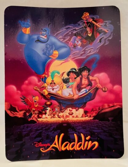 Disney Aladdin Jumbo Postcard New Front