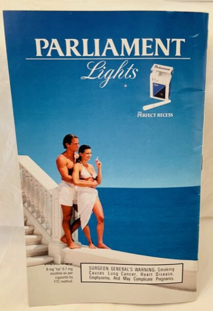 Playbill Forever Tango Color Cover 1997 Gently Used Back
