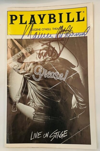 Playbill Grease Autographed 1994 Gently Used Front
