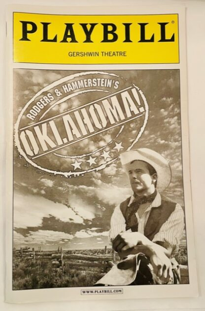 Playbill Oklahoma May 2002 Gently Used Front
