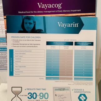 Vayarin Vayacog Medical Brochures New With Bonus Chart