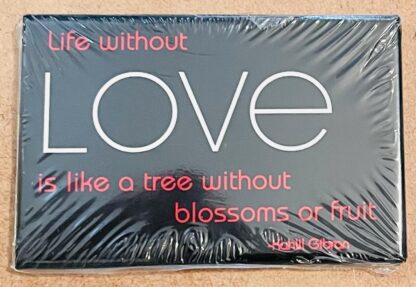Kahlil Gibran Love Magnet New Front