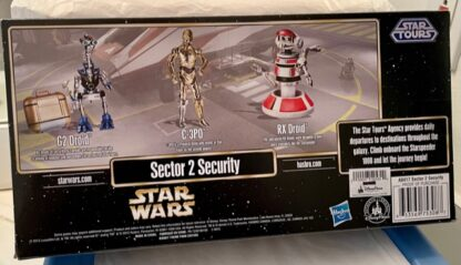 Disney Star Tours Droids Sector 2 Security New In Box Back