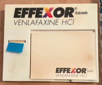 Effexor Tape Flags Dispenser + Sticky Notes Front
