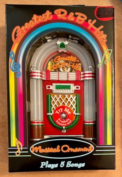 Juke Box Musical Ornament #5 R&B Hits New Front