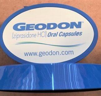 Pfizer Geodon 2006 Paperweight Sticker Dispenser Front