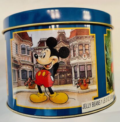 Disney WDW Mickey Tin Vintage Gently Used 1st Panel Mickey On Main Street