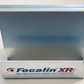 Focalin XR Clock Cardholder Used Cardholder Side
